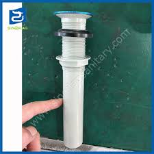 china plastic bathroom sink drain universal without hole china pp trap basin drain