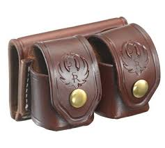 Leather Magazine Holder Gun Delectable Leather Magazine Belt Pouch For Ruger 3232 Rifle Magazines Ruger