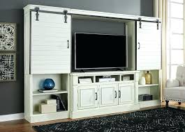 rustic entertainment center with fireplace sliding barn door entertainment center rustic white entertainment center with sliding
