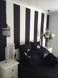 Cool Wall Designs Bedroom Awesome Cool Black And White Bedroom Design Ideas Black