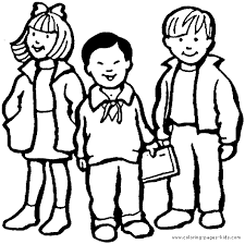 Kid Coloring Page Coloring Pages For Kids Family People And