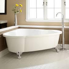 70 talia corner acrylic tub ball feet