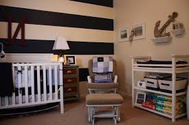 Nautical Decor Living Room Nautical Theme For Baby Room Decor Letter Throw And Wooden Crib An