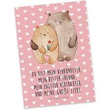 Mr Mrs Panda Postkarte Bären Liebe 100 Handmade In Norddeutschland Postkarte Bärchen Geschenk Freund Jahrestag Bär Einladung Karton
