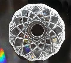 bobeche 10 cm with 1 center hole