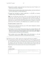 Java Programmer Resume Entry Level Java Developer Resume 2 I Java