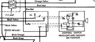 headlight switch wiring diagram chevrolet headlight switch wiring 1950 ford headlight switch diagram at 1960 Ford Headlight Switch Diagram