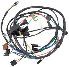 1970 chevrolet nova parts electrical and wiring wiring and Wiring Harness 72 Nova 1970 yenko nova v8 engine harness with th400 auto transmission and warning lamps 72 nova wiring harness