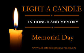 May The Light Of This Candle Light A Candle On Memorial Day Monday May 27 In Memory Of