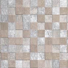 Contour Beige Natural Stone Tile Kitchen & Bathroom Wallpaper | Departments  | DIY at B&Q