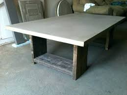 concrete top desk concrete top desk awesome concrete coffee table for your inviting living room scaffolding
