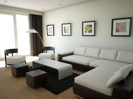 decorating the living room ideas pictures. Living Room, Room Furniture Decor White Sofa Table Carpet Pouf Standing Lamp Decorating The Ideas Pictures