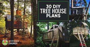 30 DIY Tree House Plans U0026 Design Ideas For Adult And Kids 100 FreeHow To Build A Treehouse For Adults