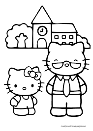 Get the best printable hello kitty coloring pages to create some fun in your kid's activities. 6 Pics Of Hello Kitty Superhero Coloring Pages Hello Kitty Coloring Home