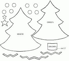 Free Christmas Tree Template Christmas Tree Decoration Templates Free Fun For Christmas Halloween