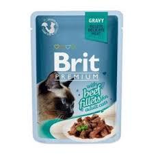 Корм для кошек <b>Brit Premium Gravy</b> Beef fillets | Отзывы ...