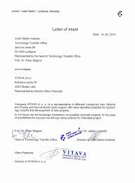 Business Letter Of Intent Letters Of Intent Business Venture Lovely Business Letter Intent 4