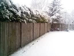 privacy wood snow fence