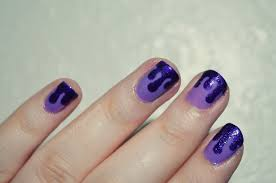 Where is my mind?: It's so hot I'm melting! Dripping nail art...
