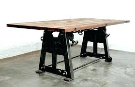 industrial dining table legs industrial dining tables table legs for room style set cast iron industrial dining table legs