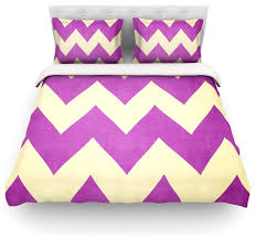catherine mcdonald juicy chevron duvet cover contemporary duvet covers and duvet sets by kess global inc