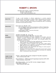 Cover Letter Example Resume Objective Accounting Resume Objective