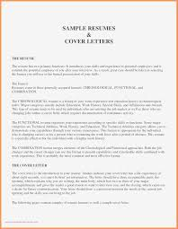 Functional Resume Examples Best Cover Letter Template Cna New Absent