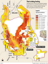 Tucson Elevation Chart The Grounds Not Sinking Much In Tucson Anymore Local News