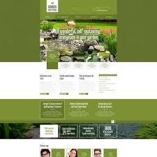 40 Best Garden Design Website Templates Impressive Garden Web Design Design