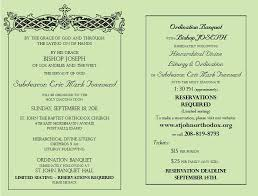 Ordination Invitation Template Best Photos Of Catholic Priest Installation Service