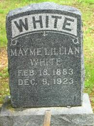 Mayme Lillian Griffith White (1883-1923) - Find A Grave Memorial