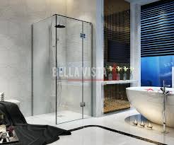 nano glass walk in shower screen panel 1300x1300mm