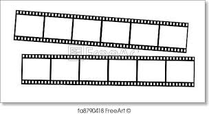 Film Strips Pictures Free Art Print Of 35mm Film Strips Xxxl Film Strips Isolated On