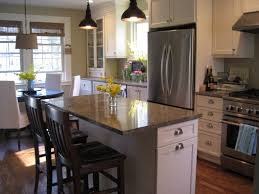 Small Kitchen With Island Small Kitchen Island With Seating Dimensions Best Kitchen Island