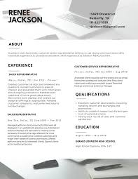 Best Resume Example 2017