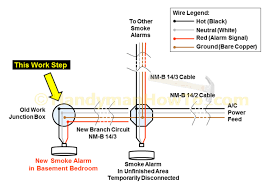 14 3 wire diagram electrical how do i install a gfci receptacle two smoke alarm wiring diagram smoke image wiring diagram wiring diagram for firex smoke detector wiring diagram