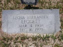 Myra Leona Allen Alexander Leggett (1908-1999) - Find A Grave Memorial