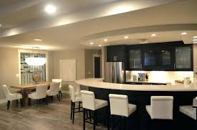 kitchen peninsula ideas contemporary kitchen with arctic white quartz counter and curved dining peninsula with white
