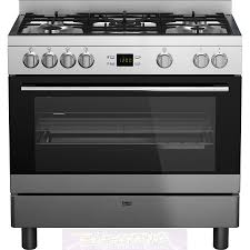 Kitchen Appliances Canberra Gm17320dx Beko Dual Fuel Upright Stove The Electric Discounter