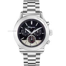 men s salvatore ferragamo 1898 chronograph watch ffm080016 mens salvatore ferragamo 1898 chronograph watch ffm080016