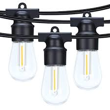 amsike led outdoor string lights