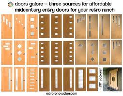 Mid Century Modern Front Door Excellent Best Images On Doors Uk