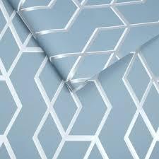 Tapete Blau Evolution Barock Gold Grau Muster Paivanpaisteinfo