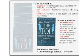 is an mba worth it how to get to the top