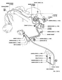 Vacuum piping 8408 8708 2lt ln6 toyota 4 runner truck rn5 6 rh toyota 7zap 1984 toyota 22r vacuum diagram toyota 22r vacuum diagram