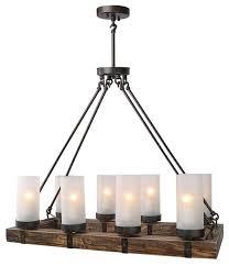 wood chandeliers kitchen island chandelier 8 light pendant light