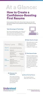 best ideas about how to resume how to get the at a glance how to create a confidence boosting first resume