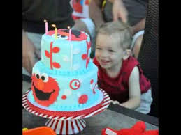 Elmo Birthday Cake Ideas Youtube