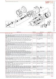 massey ferguson rear axle page 303 sparex parts lists s 70375 massey ferguson mf08 293