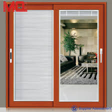 modern used commercial glass doors french doors dubai sliding patio doors with blinds between the